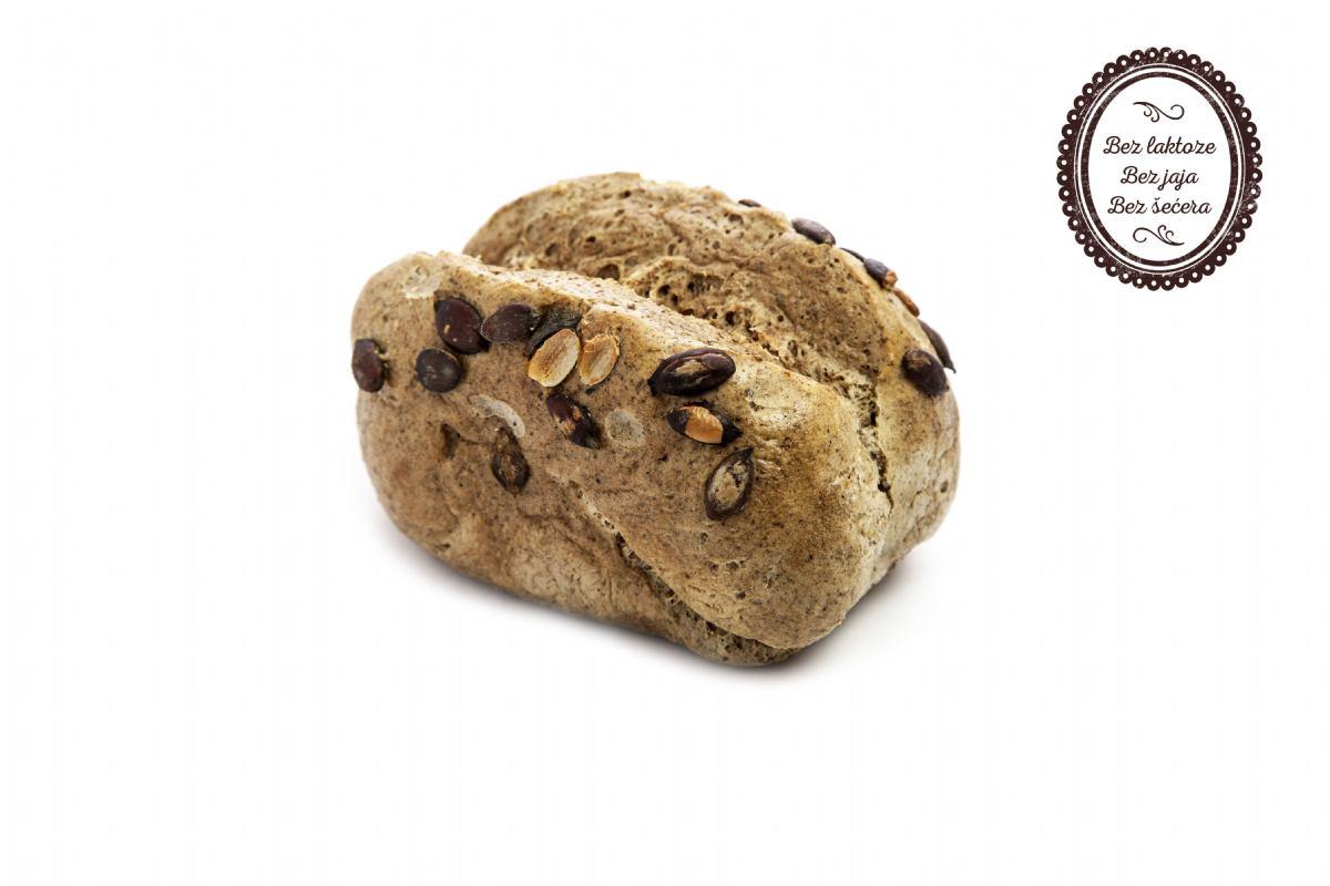 Beskvasni kruh s bundevom