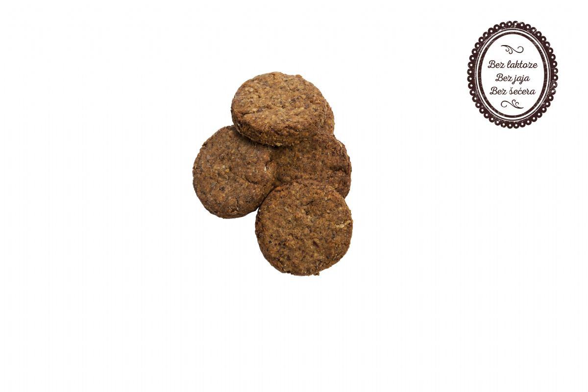 Keksi od lana i bundeve (slatki)